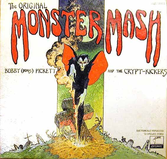 1973 The Original Monster Mash Bobby Pickett LP Parrot London Records XPAS 71063 - Cover Mike Kaluta