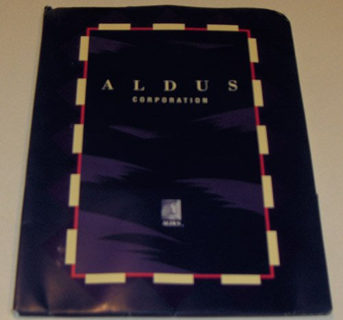 ALDUS Magazine Volume 3 Number 1 (November/December 1991) Mint