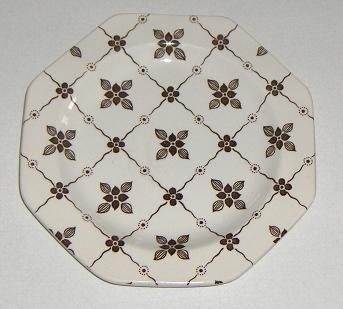 Vintage J & G Meakin Homespun Dessert / Bread Plate - Set of 4