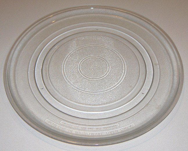 """Large Sharp Microwave Glass Turntable Plate / Tray 16"""" B001"""