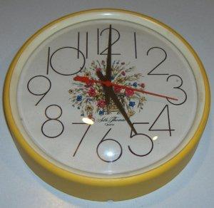 Vintage Seth Thomas Quartz Kitchen Wall Clock Kitchen Brite