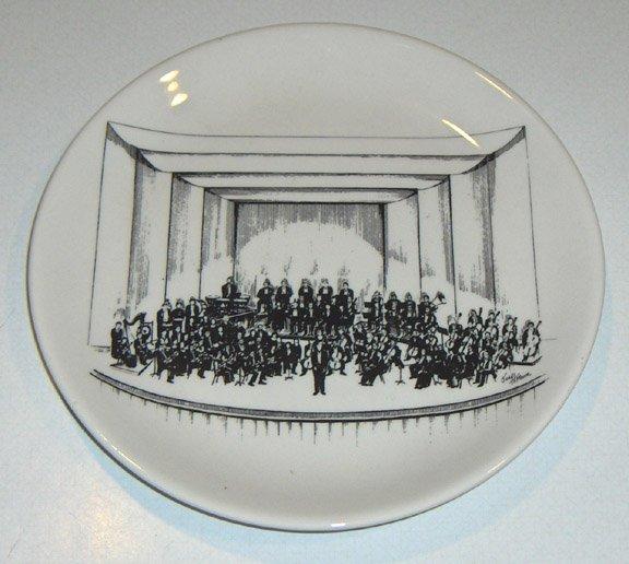 1983 Buffalo Philharmonic Orchestra 33rd Annual Ball Commemorative Plate - Limited Ed. Buffalo China