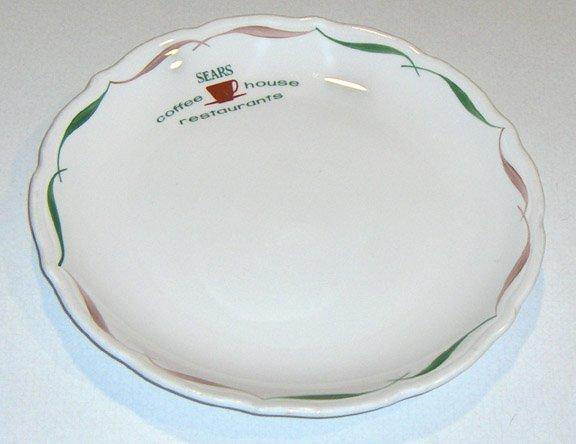 Syracuse Sears Restaurant Ware Coffee Shop Plate Set of 3