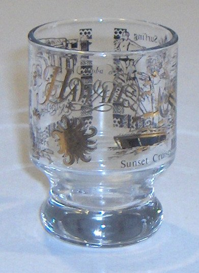 Vintage Souvenir Shot Glass - Hawaii