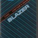 1995 Chevrolet Blazer Owners Manual