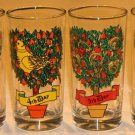 """Vintage Indiana Glass 12 Days of Christmas Single Glass Replacement - 5 1/2"""""""