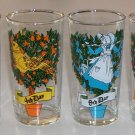 """Vintage 12 Days of Christmas Single Glass Replacement 5 1/4"""""""
