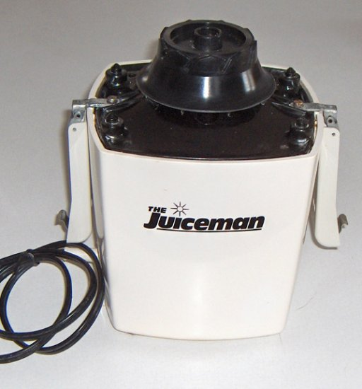 1991 Original Juiceman Juice Extractor - Base Motor only with Instruction Booklet