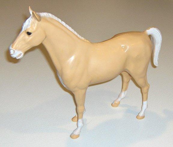 Vintage Marx Company Palomino Thunderbolt Horse for Johnny West