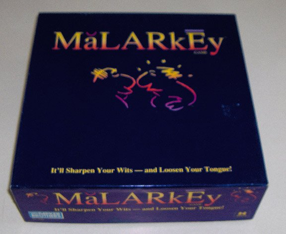 Vintage Parker Brothers Malarkey 1991 Word Party Game