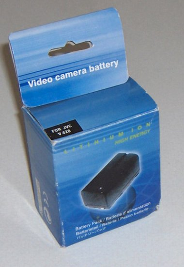 Lithium Ion Battery Pack JVC BN-V428 Li-ion Mn Made in China
