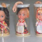 Vintage International Miss Set of 5 - Liddle Kiddle Klones MIP
