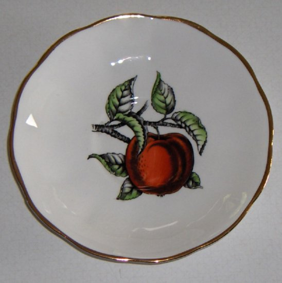 Vintage Queen Anne Apple Saucer (no cup) England