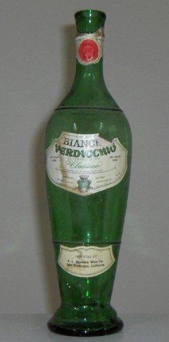 Vintage Wine Bottle - Bianchi Verdicchio Classico circa mid 70s
