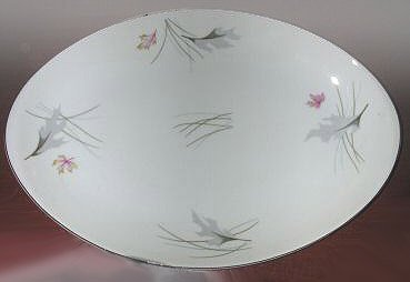 Vintage Meito Autumn Leaves Oval Platter