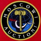 Moscow! Auction! Board game by Porter Planet 1991
