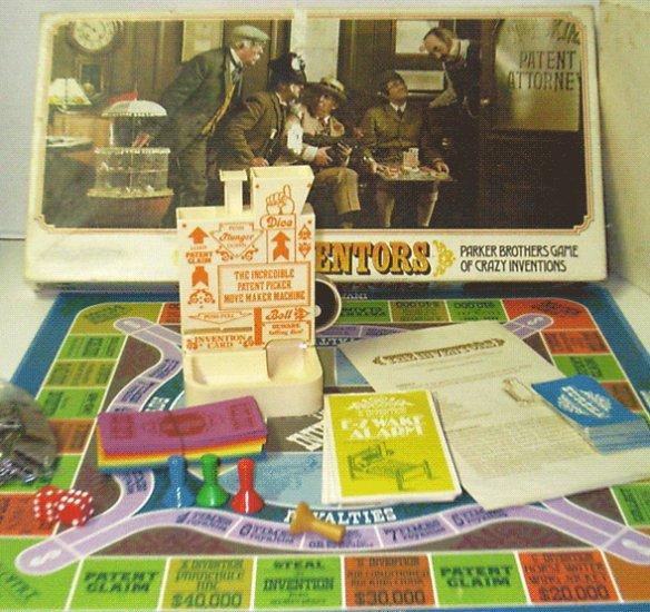 Vintage Parker Brothers The Inventors Boardgame 1974