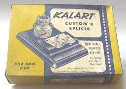 Vintage Kalart Custom 8 Splicer Model S-4 MIB circa 1950s