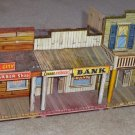 Vintage 1950s Roy Rogers Mineral City Tin Streetfront Marx Company