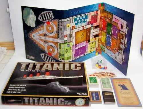 Vintage Titanic: The Board Game 1998 Universal Games
