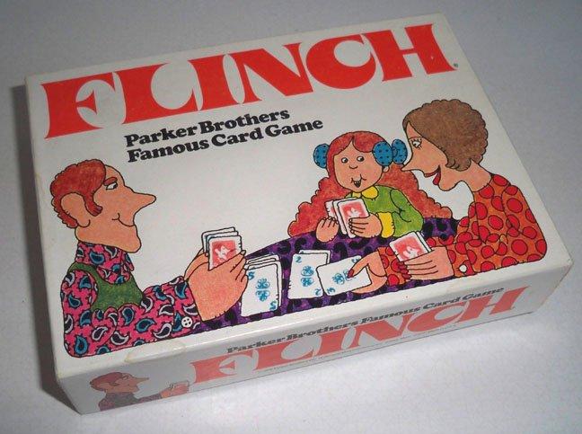 Vintage Parker Brothers Flinch Game 1976