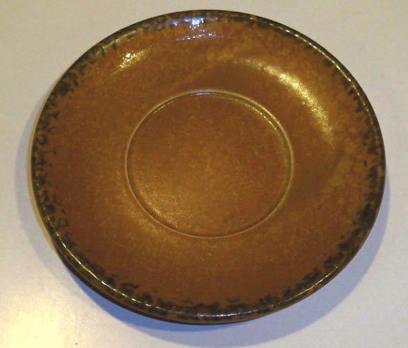 Vintage McCoy Pottery McCoy Canyon Saucers (no cups) Set of 3