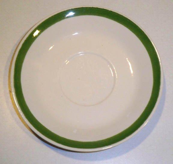 Royal China (USA) Triple Treat Saucers (no cups) Set of 4
