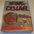 Vintage Wine Cellar The Wine Tasting Game Board Game 1971