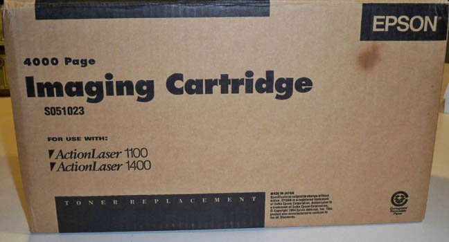 OEM Epson SO51023 Laser Toner Cartridge for Epson ActionLaser - NIB