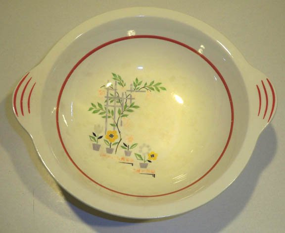 Vintage Steubenville STB200 Handled Vegetable Bowl circa 1930 - 40s
