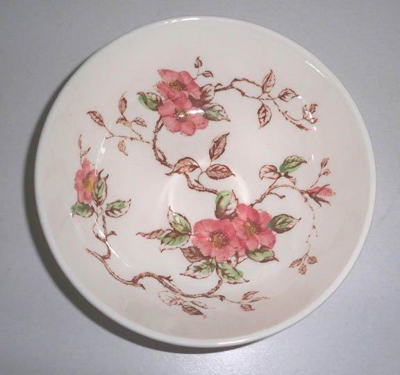 Vintage Nasco Springtime Hand-painted Cereal Salad Bowl Set of 3