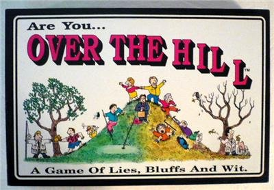 Vintage Game Works 1986 Are You... Over The Hill Game