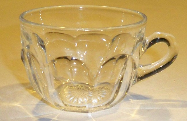 Vintage Heisey Colonial #373 / 341 Clear Punch Cup Set of 2