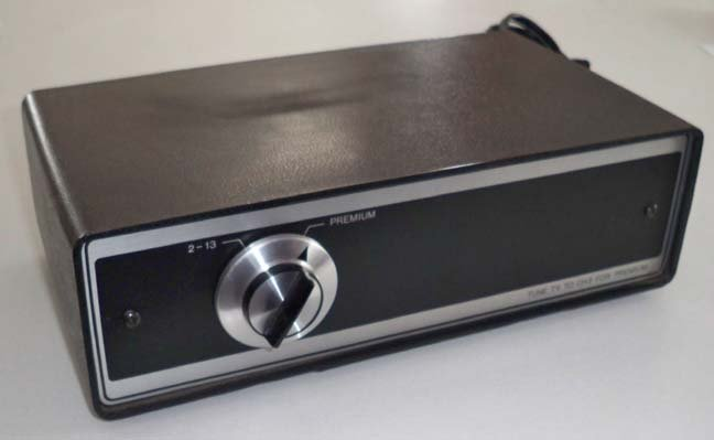 Vintage Econo-Code CATV Converter / Decoder Model E13A Oak Communications