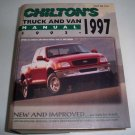 Chilton's Truck and Van Repair Manual 1993-97 Hardcover Book