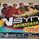 Patch 2000 N Sync Backstage Pass Board Game