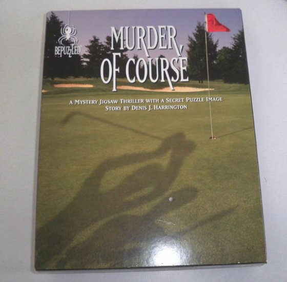 bePuzzled 1994 Murder, Of Course Mystery 1000 Piece Jigsaw Puzzle