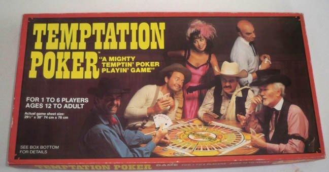 Vintage Whitman 1982 Temptation Poker Game