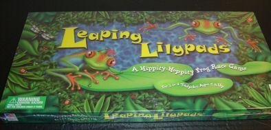 Great American Puzzle Factory 2000 Leaping Lilypads Board Game