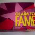 Vintage Parker Brothers 1990 Claim to Fame Board Game