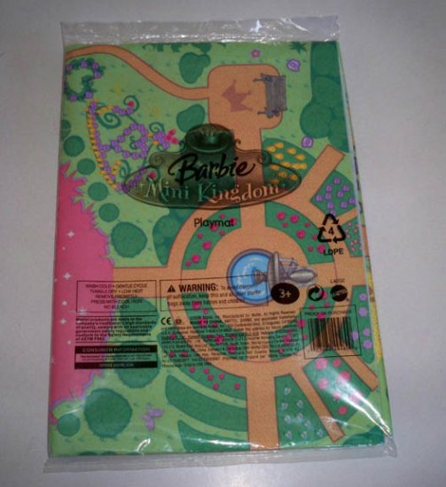 Mattel 2006 Barbie Mini Kingdom Playmat New in Package