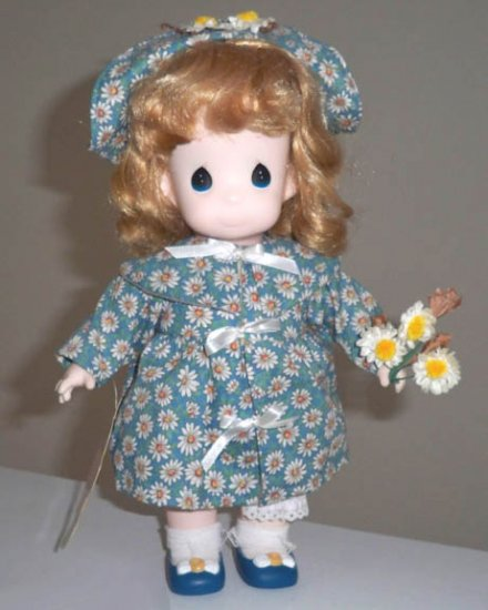 Applause Precious Moments Garden of Friends Daisy April #1458 1st Edition Doll