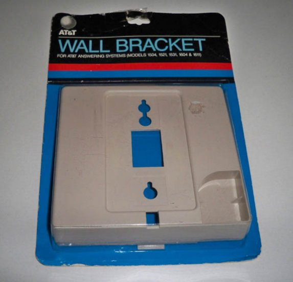 AT&T Wall Bracket for AT&T Answering Systems Models 1504 1521 1531 1604 1611