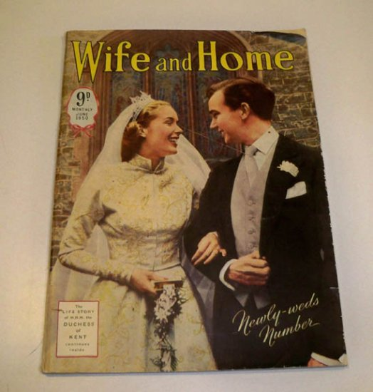 Vintage Magazine - Wife and Home June 1950 England