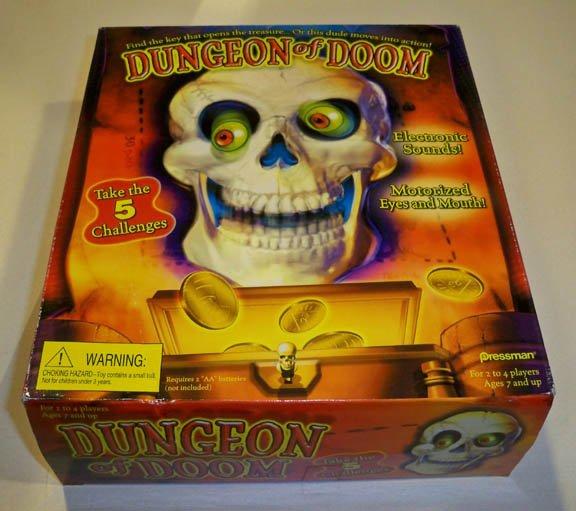 1999 Pressman Dungeon of Doom Electronic Game