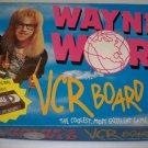 1992 Wayne's World VCR Board Game - Mattel No. 7670