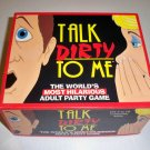 Vintage 1994 TDC Games Talk Dirty to Me Game