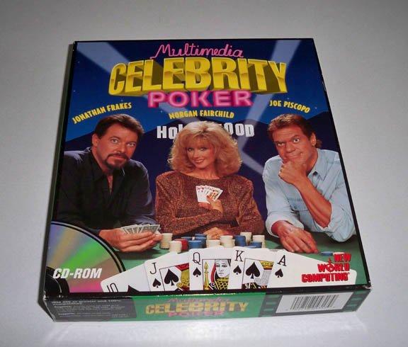 1994 Multimedia Celebrity Poker PC Software