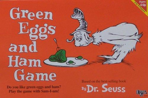 University Games 2000 Green Eggs & Ham Board Game