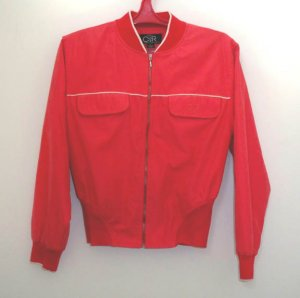 Claudia Romana Vintage Styling Red Golf Jacket Size S